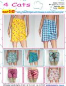 144 Units of Ladies Assorted Print 100%Cotton Shorts