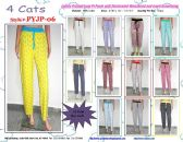 72 Units of Ladies Assorted Print 100%Cotton Lounge Pants