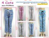 72 Units of Ladies Assorted Print 100%Cotton Lounge Pants - Pants / Capri / Shorts