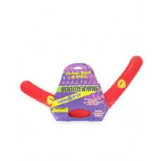 72 Units of Red plastic boomerang - Beach Toys