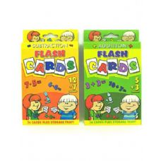 72 Units of Jumbo flash cards - Card Games