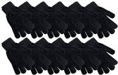 Value Pack of excell Mens and Womens Warm And Stretchy Winter Gloves, Unisex (Chenille Black) - Winter Gloves