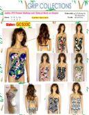 48 Units of Ladies 2 Piece Printed Bathing Suit - Womens Swimwear