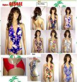 48 Units of Ladies 1 Piece Printed Bathing Suit