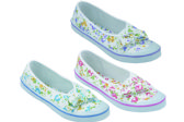 36 Units of Ladies' Canvas Shoes Assorted Colors - Womens Sneakers