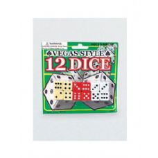 72 Units of Vegas style dice - Playing Cards, Dice & Poker