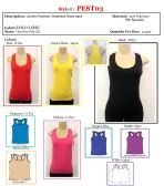 144 Units of Ladies Seamless Muscle Tee Ribbed Tank Top