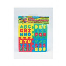 36 Units of Foam letter and number puzzle - Puzzles