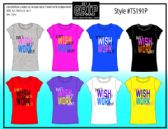 72 Units of Ladies Assorted Color Printed Tee Shirts