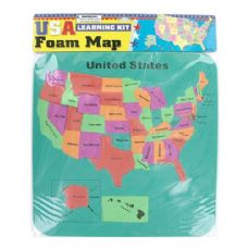 72 Units of USA foam map set - Puzzles