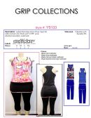 24 Units of Ladies Sleeveless Active Wear Capri Set with Attached Mini Skirt