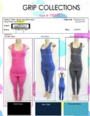 48 Units of Ladies 2 Piece Space Dye Active Wear Assorted Colors
