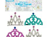 144 Units of Mini Tiaras Party Favors - Party Accessory Sets