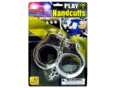 72 Units of Police Play Plastic Handcuffs - Toy Weapons