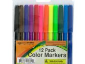 72 Units of Color Marker Set - MARKERS/HIGHLIGHTERS