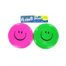 72 Units of Smiley face flying disk - Summer Toys