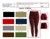 72 Units of Ladies Corduroy Velour Skinny Pants with Front and Back Pockets