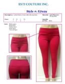 48 Units of Ladies Stretch Fashion Pants with Front Pockets