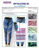 48 Units of Ladies Fashion Printed Pants with Workable Drawstring