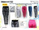 60 Units of Ladies Sweat Pants with Workable Drawstring