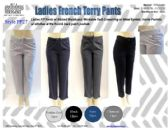 48 Units of Ladies French Terry Pants with Workable Drawstring