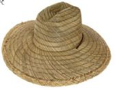 24 Units of Unisex Summer Hat 100% Straw - Sun Hats