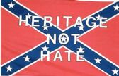 24 Units of Rebel Confederate Flag Heritage not Hate