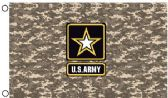 24 Units of Licensed US Army Digital Camo Flags