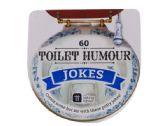 60 Units of Toilet Humor Joke Card Box - Novelty Toys