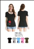 36 Units of Women's Floral T Shirt - Womens Fashion Tops