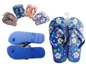 72 Units of Women's Printed Flop Flip