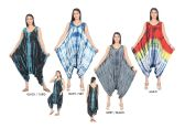 24 Units of Women's Multicolored Printed Jump Suit Summer Dress