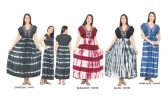 24 Units of Women's Multicolored Printed Long Summer Dress