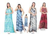 48 Units of Women's Multicolored Long Maxi Summer Dress