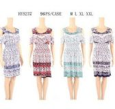 48 Units of Womens Short Sundress Assorted Size