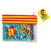 12 Units of Dr. Seuss Doodle Pad Stationery Set - Pencil Boxes & Pouches