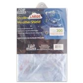 24 Units of Clear pvc baby stroller cover