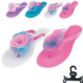 36 Units of Womens Flip Flop With Flower Size 6-11 - Women's Flip Flops