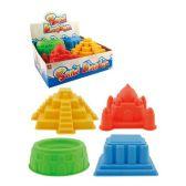 "72 Units of 6.6"" Sand mold - Beach Toys"