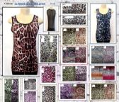 144 Units of Womens Fashion Animal Printed Tank Top Assorted Sizes