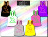 72 Units of Ladies Tank Top With Graphic Top 100% Cotton