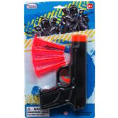 72 Units of TOY GUN WITH SOFT DARTS IN BLISTER CARD - Toy Sets