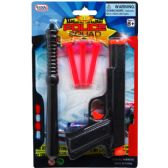 "72 Units of 7"" TOY GUN W/ SOFT DARTS & ACCESS IN BLISTER CARD, 2 ASST - Toy Sets"