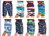 48 Units of MEN'S PRINTED BATHING SUIT - Mens Bathing Suits