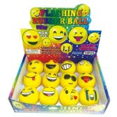 144 Units of Smile Face LED Ball - Balls