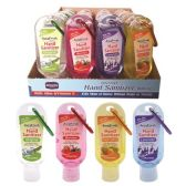 48 Units of Hand sanitizer clip 1.8oz - Hand Sanitizer