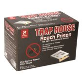 48 Units of 2 Pack roach prison glue trap - Pest Control
