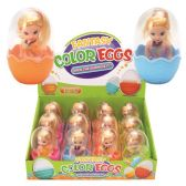 48 Units of Eggs with/ girl toys - Animals & Reptiles