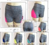 72 Units of Ladies Yoga And Bike Shorts Assorted Colors And Sizes