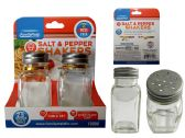 96 Units of 2 Piece Salt & Pepper Shakers - Baby Beauty& Care Items